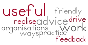 top ten words from feedback for fff