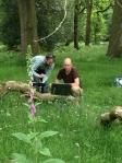 scanning woods cb