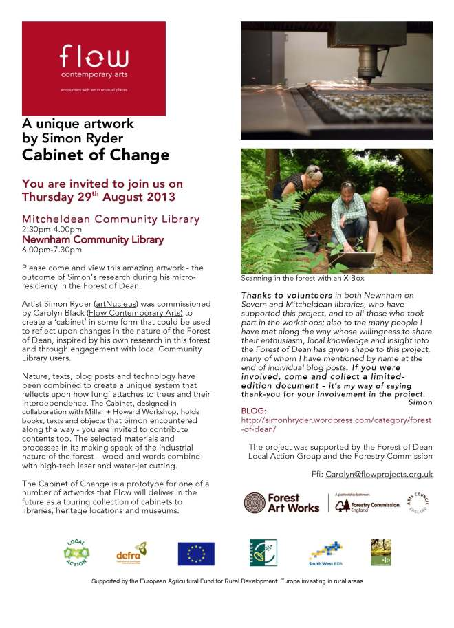 launch poster for cabinet of change v3high