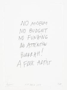 museum and artists pay