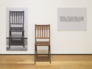 Joseph-Kosuth.-One-and-Three-Chairs-469x353